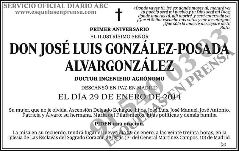 José Luis González-Posada Alvargonzález
